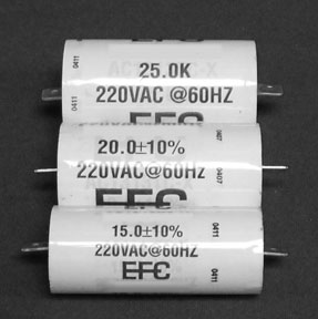 Capacitor Kit EAD Motor 15/20/25